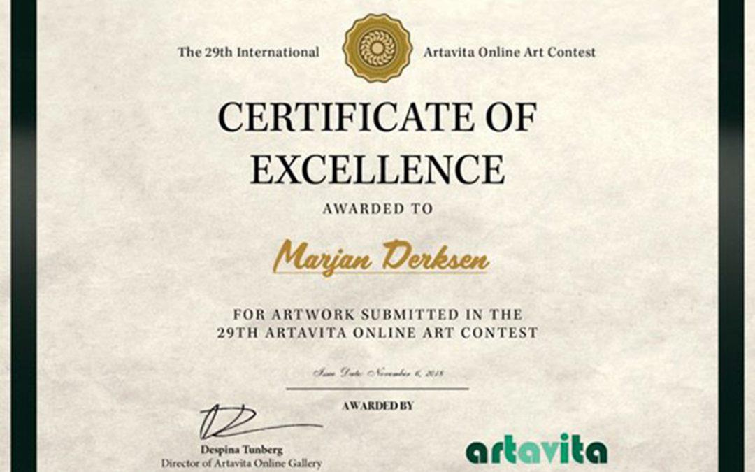 Artavita award